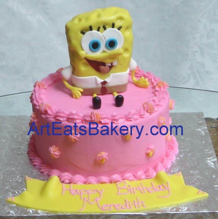Cake Birthday Kids Fondant Buttercream Art Eats Bakery