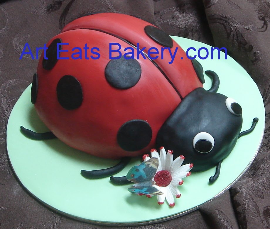 fondant birthday cakes.fondant Art Eats Bakery