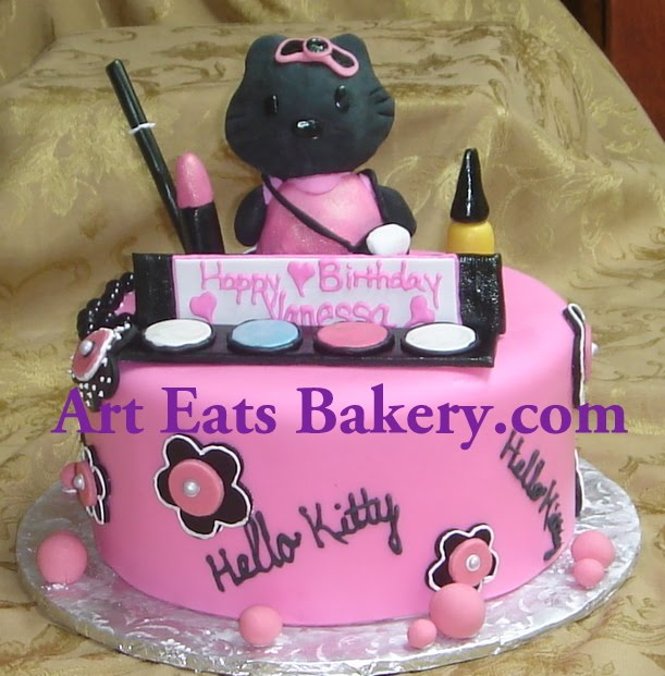 Cake Fondant Nails: Art Eats Bakery